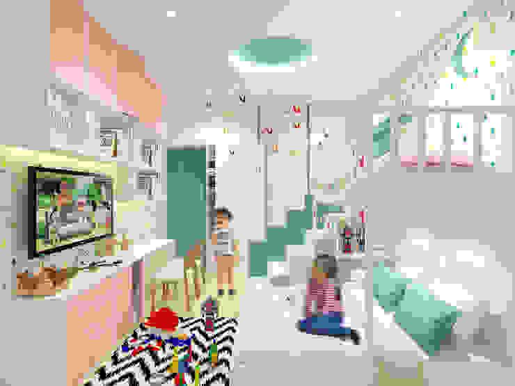 Kids Bedroom Design Kamar Bayi/Anak Modern Oleh SEKALA Studio Modern