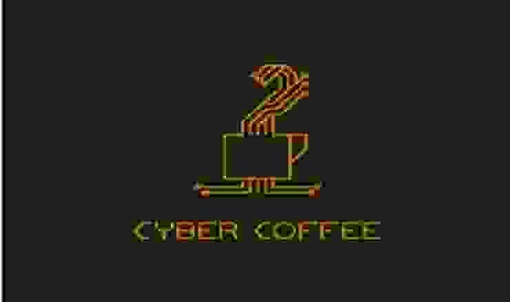 cyber coffee bởi Thiết Kế Logo Đẹp