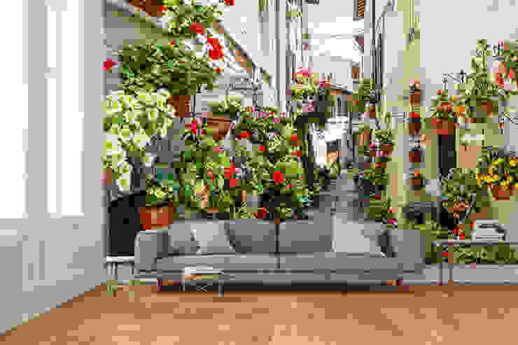 Paredes y pisos de estilo mediterráneo de Dijivol Duvar Kağıtları Mediterráneo