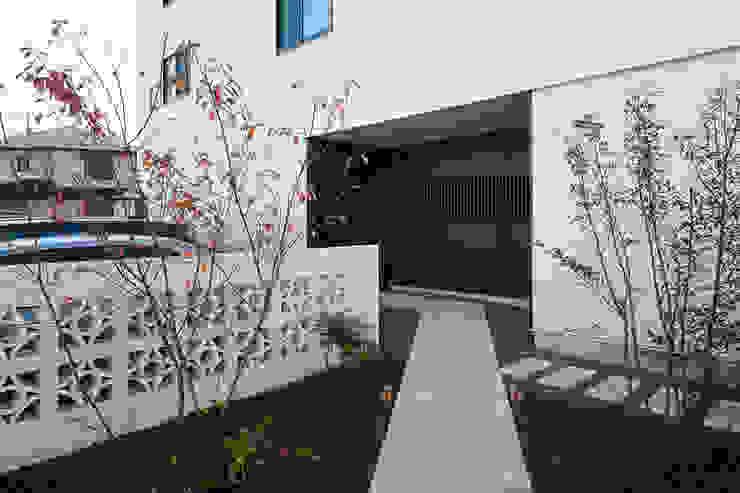 根來宏典建築研究所 บ้านและที่อยู่อาศัย หิน White