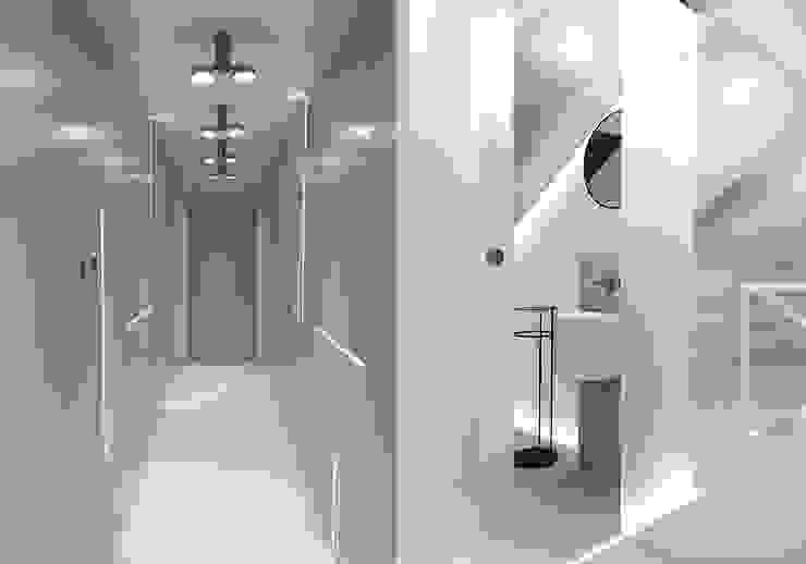 Minimalist style bathrooms by Kołodziej & Szmyt Projektowanie wnętrz Minimalist