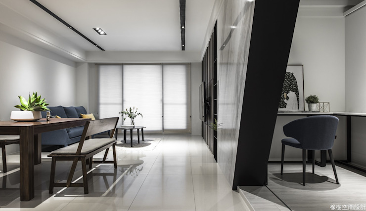 高雄 郭宅 现代客厅設計點子、靈感 & 圖片 根據 橡樹設計Oak Design 現代風