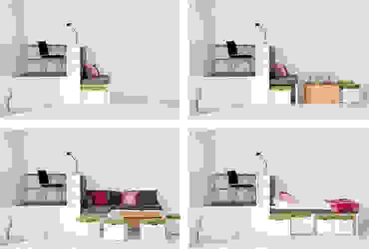 Giường ngủ thông minh bởi Nội thất thông minh giường Hiện đại