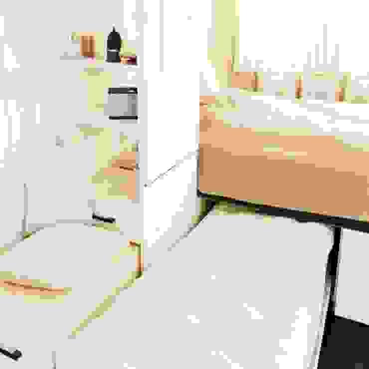 Giường ngủ thông minh Phòng ngủ phong cách hiện đại bởi Nội thất thông minh giường Hiện đại