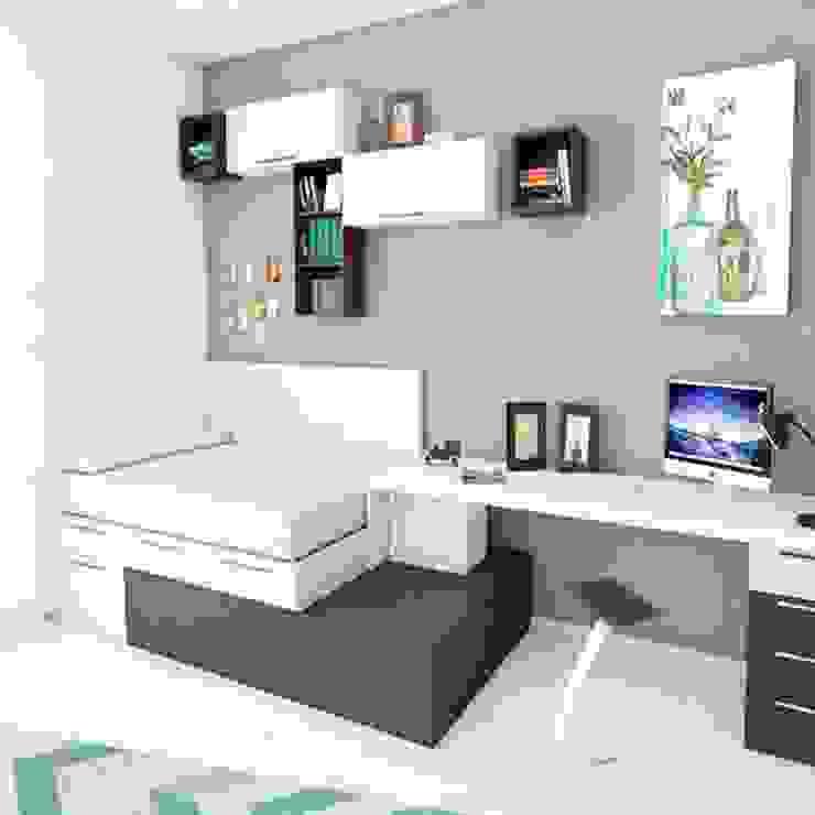 Giường ngủ thông minh Phòng học/văn phòng phong cách hiện đại bởi Nội thất thông minh giường Hiện đại
