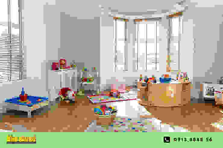 Các mẫu sàn gỗ Phòng trẻ em phong cách hiện đại bởi Kho Sàn Gỗ Hiện đại