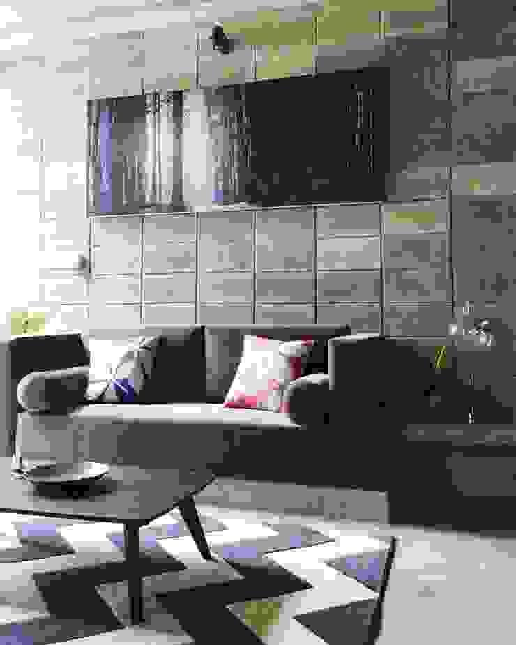M3 House by Atelier ACID Phòng khách phong cách nhiệt đới bởi Atelier Acid Nhiệt đới