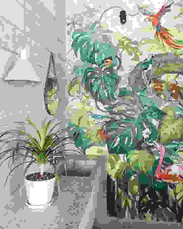 M3 House by Atelier ACID Hành lang, sảnh & cầu thang phong cách nhiệt đới bởi Atelier Acid Nhiệt đới