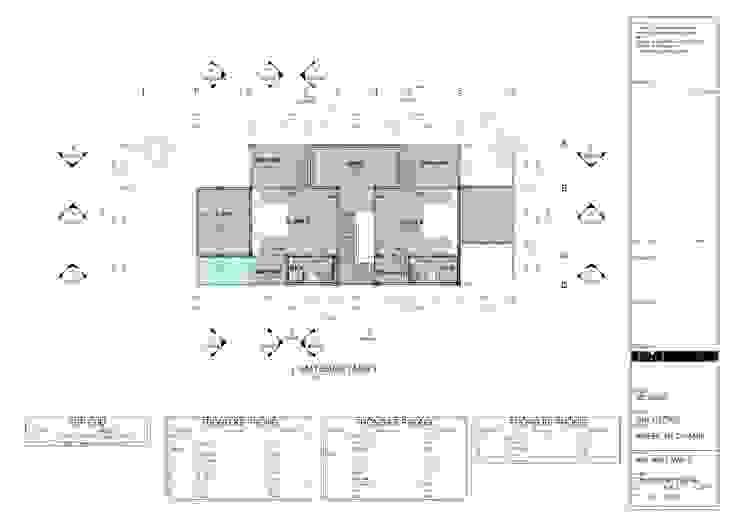 M3 House by Atelier ACID: nhiệt đới  by Atelier Acid, Nhiệt đới