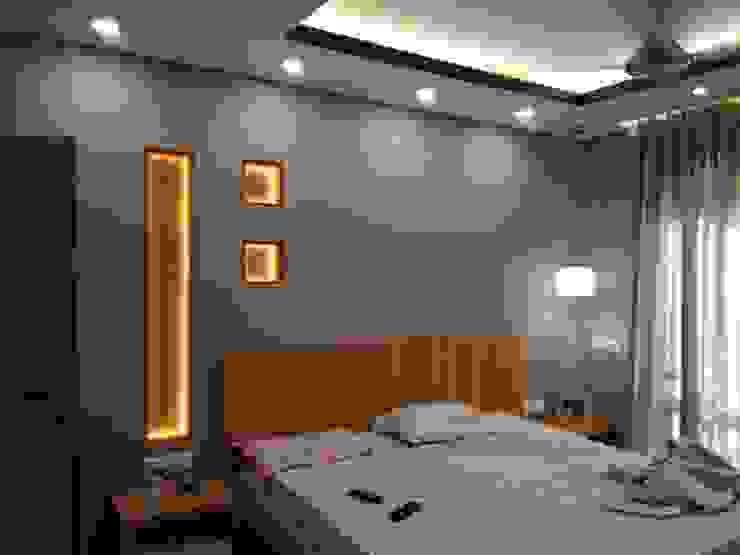 Masterbed Room Modern Bedroom by V-Serve Design & PMC Modern