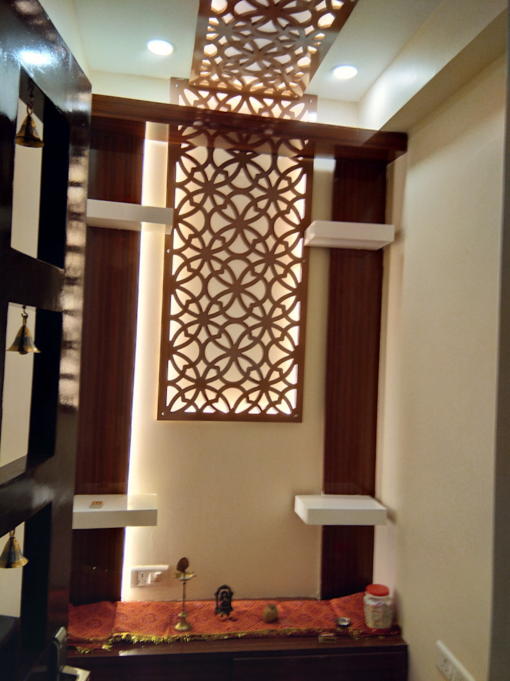 Pooja Room Classic style bedroom by V-Serve Design & PMC Classic