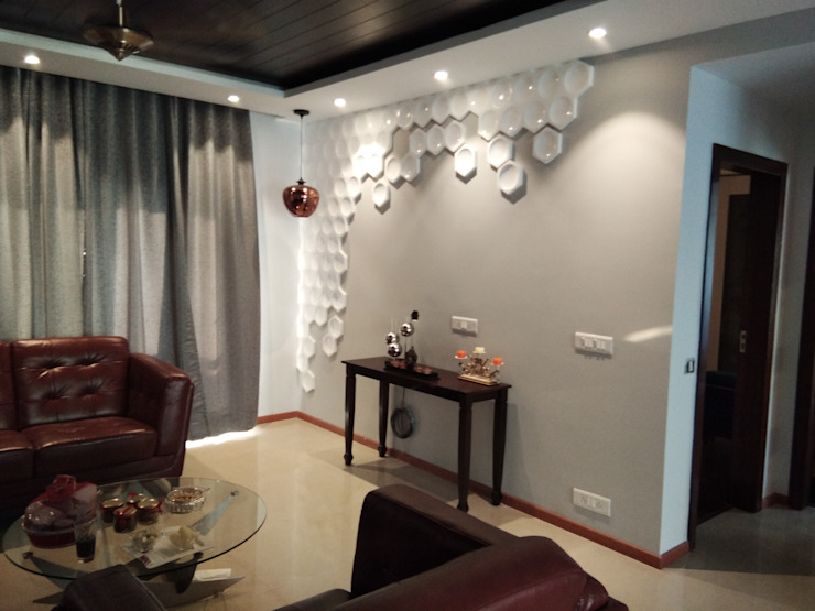 Living Room Modern Living Room by V-Serve Design & PMC Modern