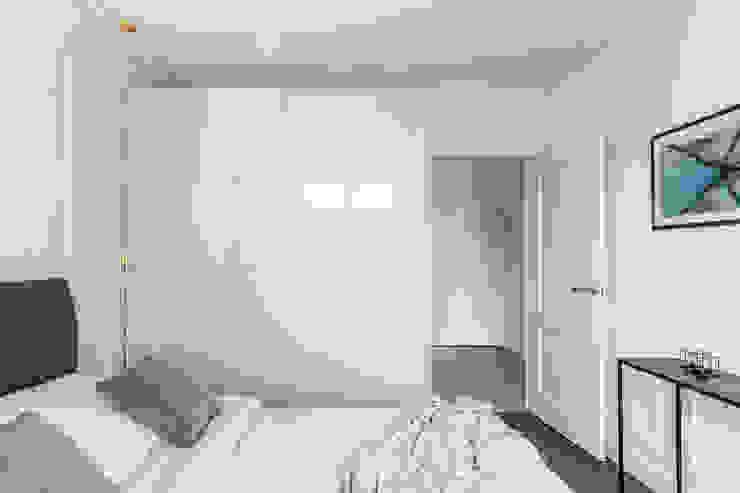 Chambre originale par Anna Serafin Architektura Wnętrz Éclectique