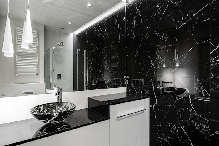 Eclectic style bathroom by Anna Serafin Architektura Wnętrz Eclectic