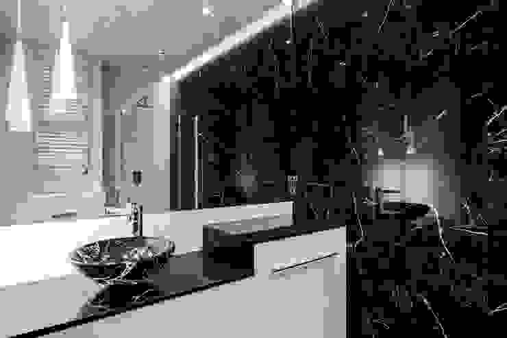 Baños de estilo ecléctico de Anna Serafin Architektura Wnętrz Ecléctico