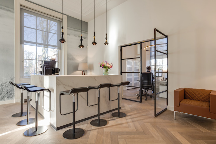 Modern offices & stores by Dineke Dijk Architecten Modern
