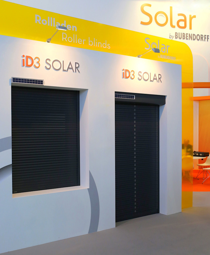 Inteligentne Rolety Bubendorff Modern windows & doors Aluminium/Zinc