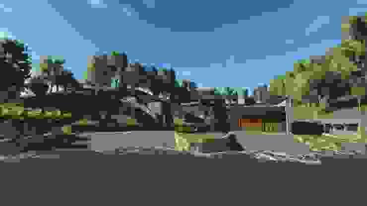 Casa EFZ 02 de Sotomayor & Asociados Moderno Concreto reforzado