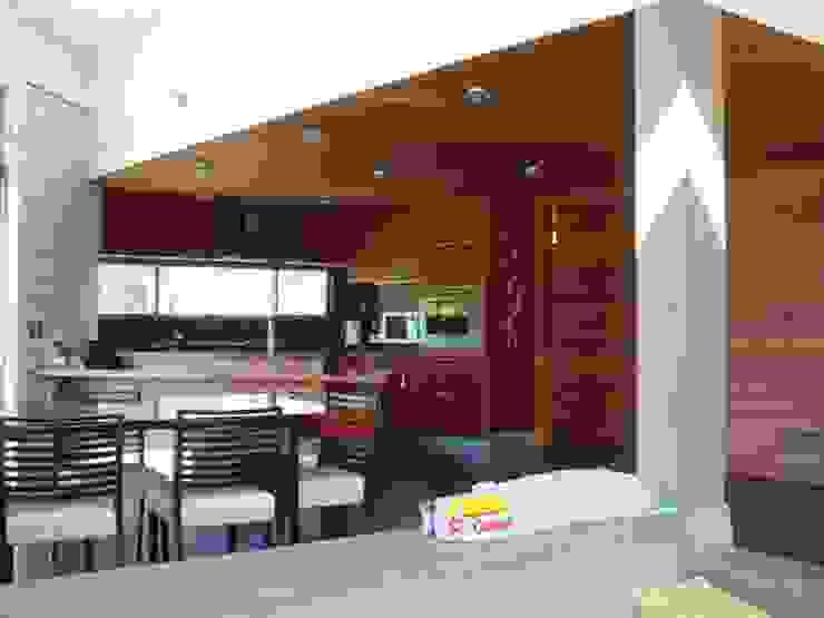 casa FSA 02 Comedores de estilo moderno de Sotomayor & Asociados Moderno Madera Acabado en madera