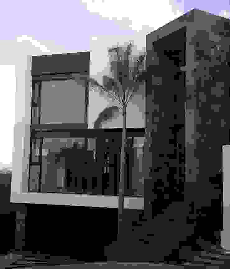 Fachada Principal de GRUPO VOLTA Moderno Mármol