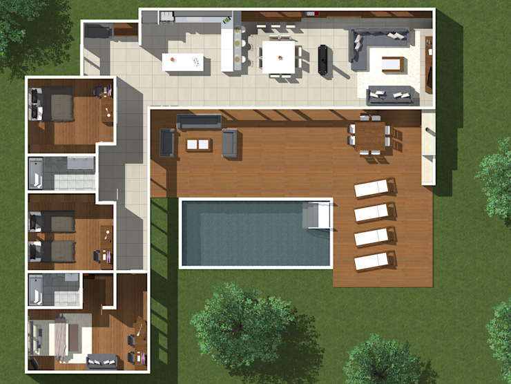 by JVG Arquitectura Modern