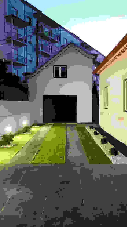 aponto Modern Garden Ceramic Grey