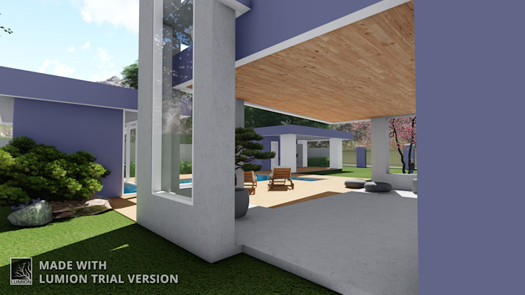 Modern Pool by Arquitetura M - Arquitetura e Engenharia Modern