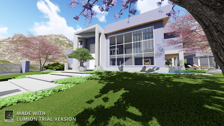 Modern Garden by Arquitetura M - Arquitetura e Engenharia Modern