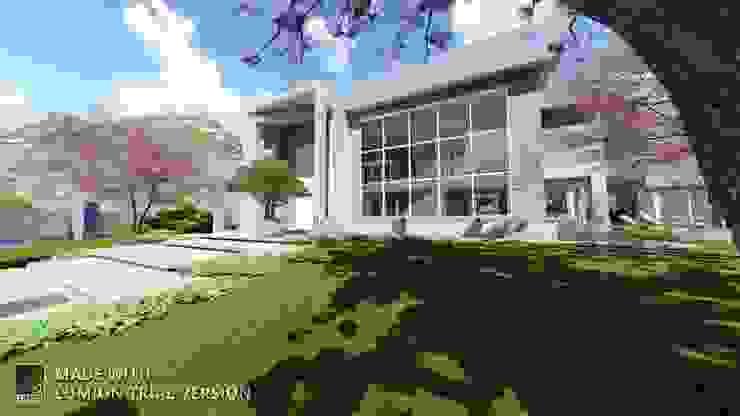 Arquitetura M - Arquitetura e Engenharia Moderner Garten