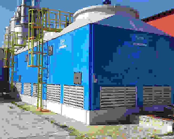 Su soğutma kulesi Cooling Towers Su soğutma kulesi CTP Mühendislik Akdeniz Beton