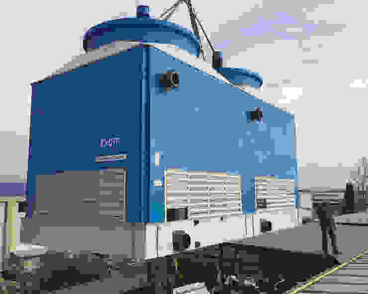 Soğutma Kulesi Cooling Towers Akdeniz Çalışma Odası Su soğutma kulesi CTP Mühendislik Akdeniz
