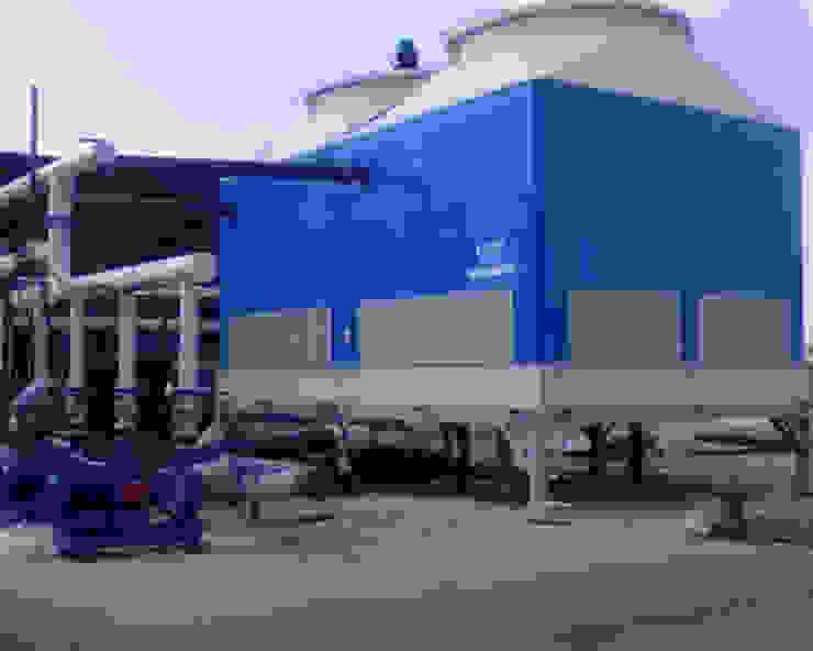 Soğutma Kulesi Cooling Towers Akdeniz Havuz Su soğutma kulesi CTP Mühendislik Akdeniz