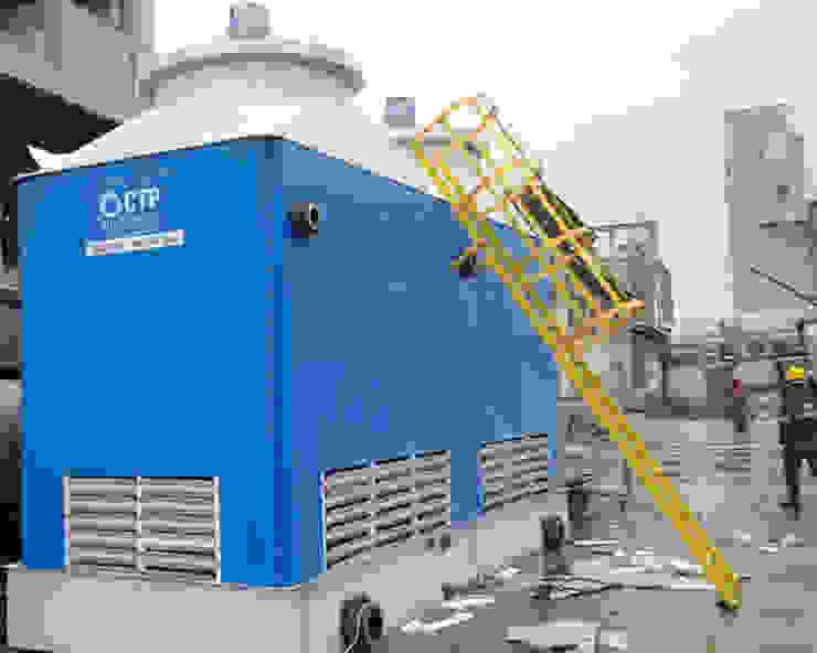 Soğutma Kulesi Cooling Towers Akdeniz Multimedya Odası Su soğutma kulesi CTP Mühendislik Akdeniz