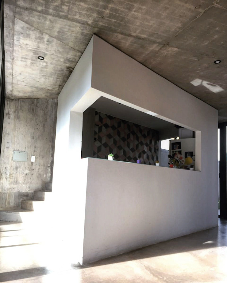 Cucina minimalista di Horizontal Arquitectos Minimalista