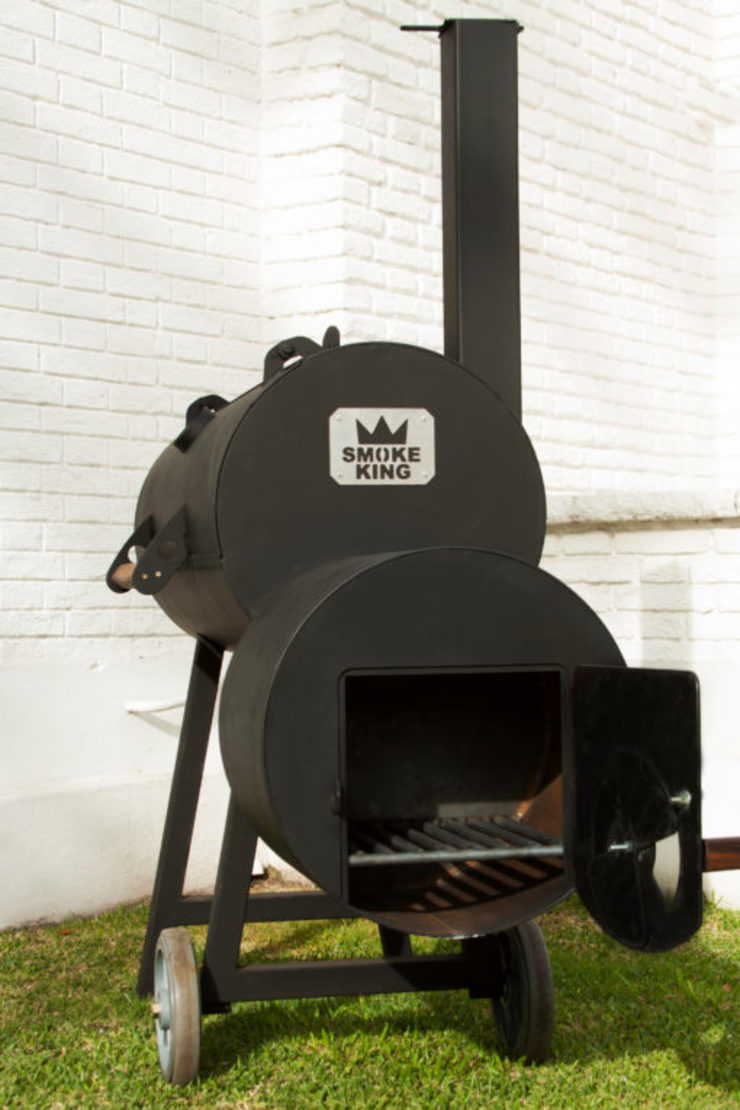 Ahumadora para el Hogar de Smoke King Ahumadoras Minimalista Hierro/Acero