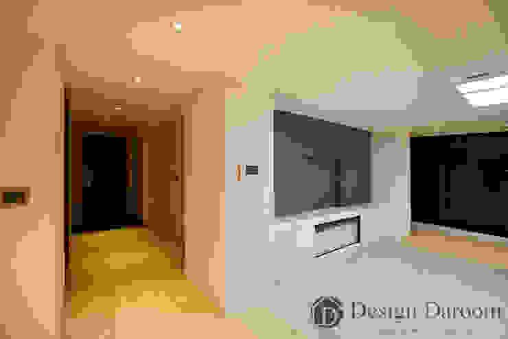 광장동 워커힐 아파트 56py 거실 모던스타일 거실 by Design Daroom 디자인다룸 모던