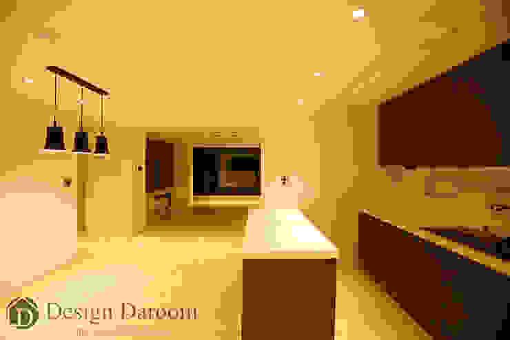 광장동 워커힐 아파트 56py 주방 모던스타일 주방 by Design Daroom 디자인다룸 모던