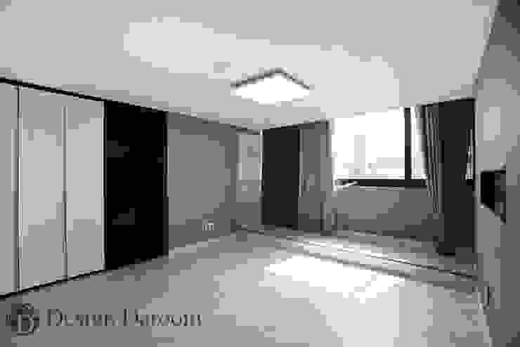 광장동 워커힐 아파트 56py 침실 모던스타일 침실 by Design Daroom 디자인다룸 모던