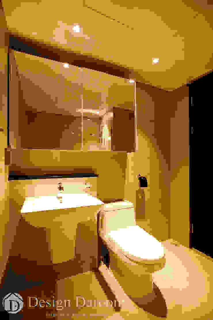 광장동 워커힐 아파트 56py 거실욕실 모던스타일 욕실 by Design Daroom 디자인다룸 모던