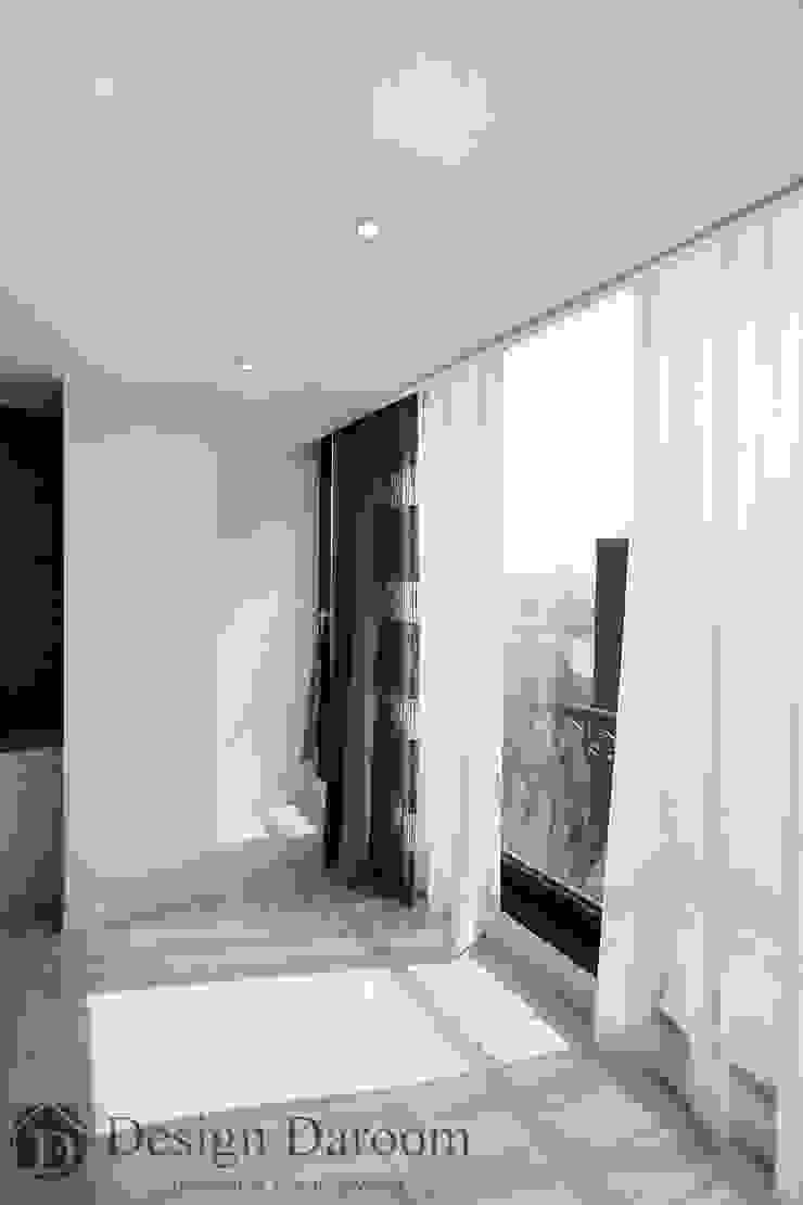 광장동 워커힐 아파트 56py 거실 모던스타일 침실 by Design Daroom 디자인다룸 모던