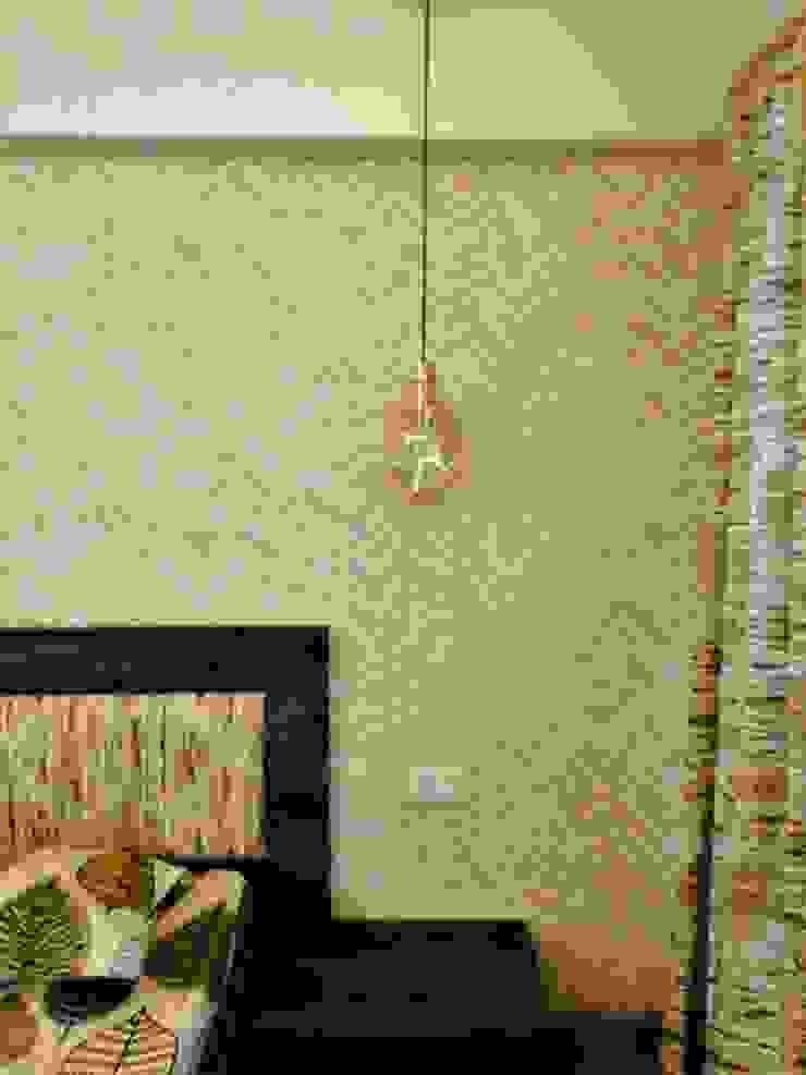 Veneer based minimilist theme Asian style bedroom by The Wood Works Club Asian