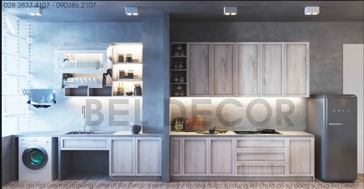 HO17111 Luxury Apartment Interior Design & Construction / Bel Decor bởi Bel Decor