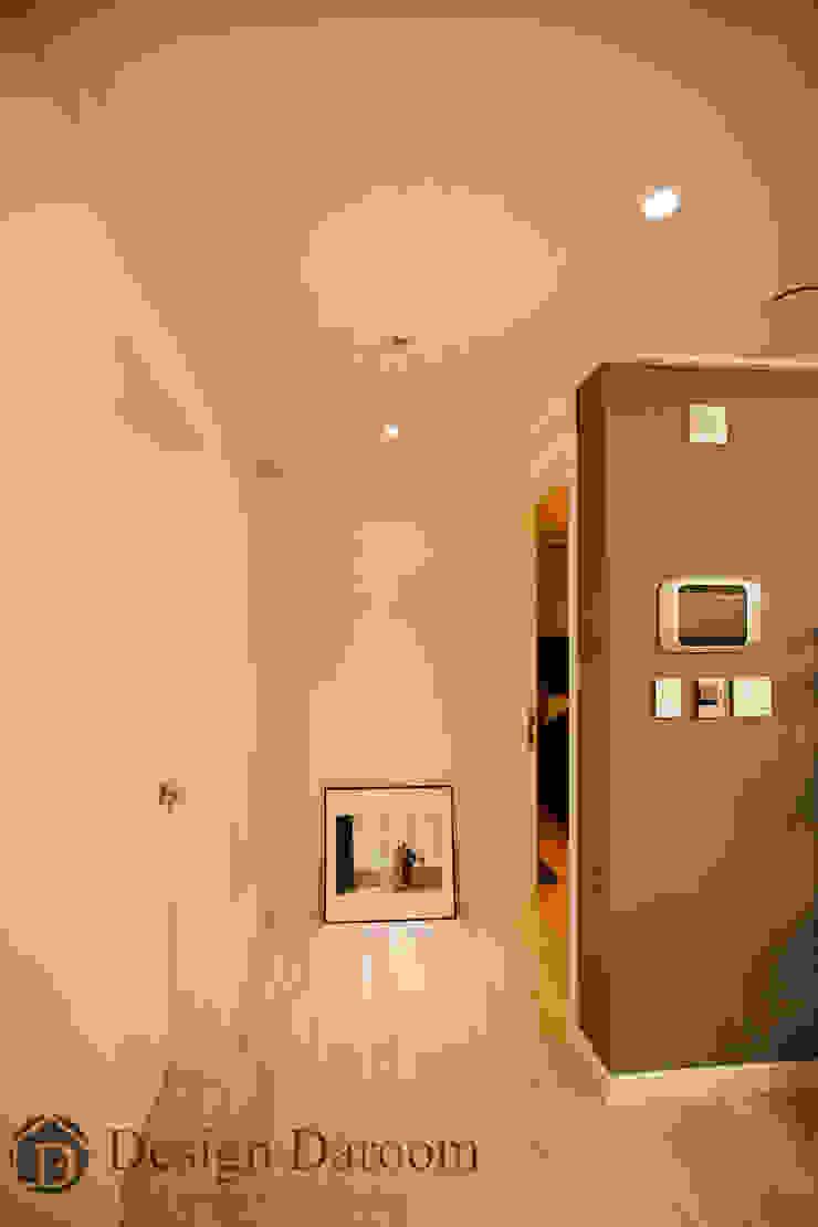 수유 두산위브 아파트 34py 복도 코지코너 모던스타일 복도, 현관 & 계단 by Design Daroom 디자인다룸 모던