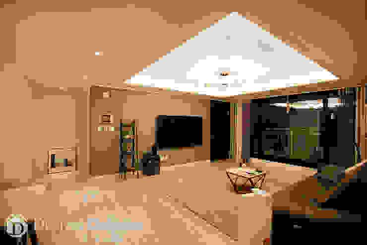 수유 두산위브 아파트 34py 거실 모던스타일 거실 by Design Daroom 디자인다룸 모던