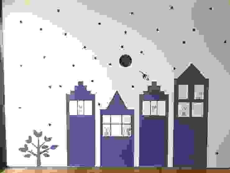 Paredes y suelos de estilo moderno de Dijivol Duvar Kağıtları Moderno
