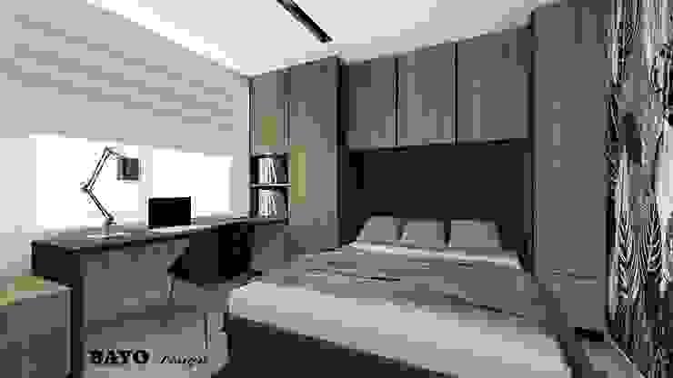 Small flat BAYO Design Studio Modern style bedroom