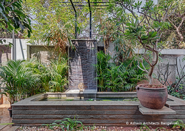 Taman Modern Oleh Ashwin Architects In Bangalore Modern