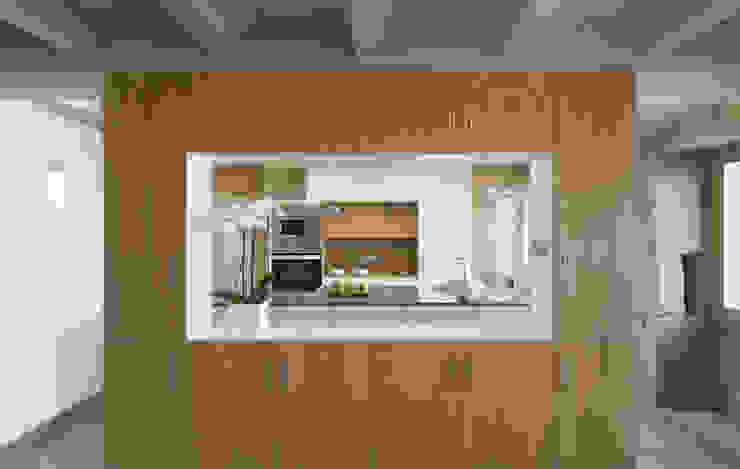 Vivienda tradicional en Moscoso LIQE arquitectura Cocinas de estilo moderno