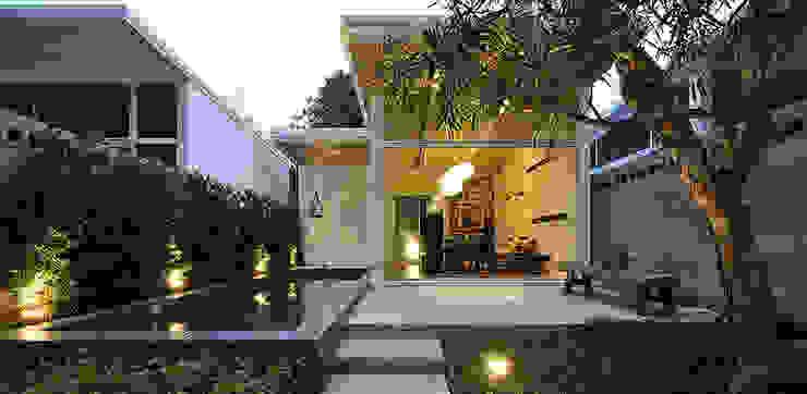 白色鋼構木屋 大桓設計顧問有限公司 Prefabricated Home Metal White