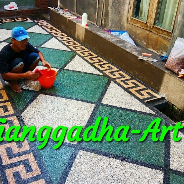 Batu sikat Oleh Tukang Taman Surabaya - Tianggadha-art